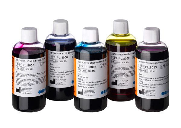 Acid Fast Stains for Mycobacteria (Concentrated x10)