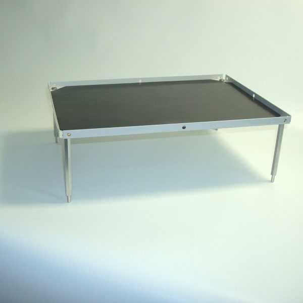 """Stacking platform, small 10.5""""x7.5"""" with flat mat (3.0""""separation)-0"""