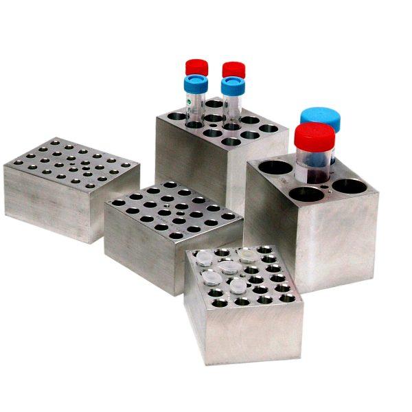 Block, 12 x 5.0ml centrifuge tubes (17mm diameter)-0