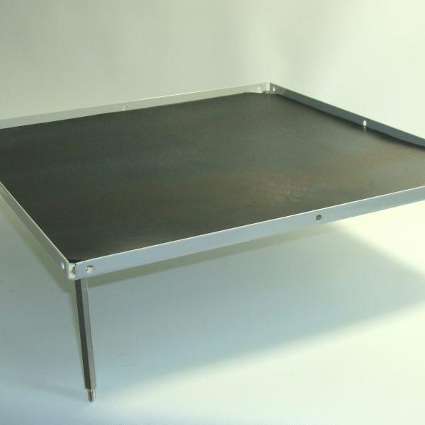 """Stacking platform, large 12""""x12"""" with flat mat (3.0"""" separation)-0"""