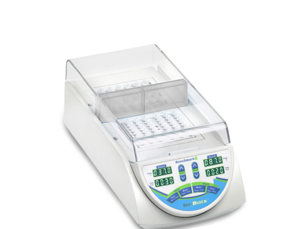 isoBlock™ - digital dry bath, with two independently controlled chambers, without blocks-0