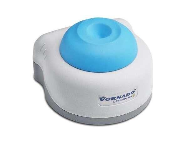 Vornado™ minature vortexer with blue cup head-0