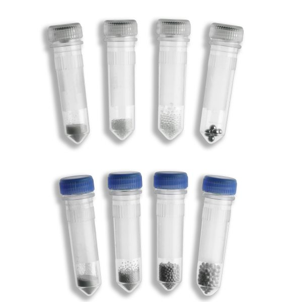 Prefilled 2.0ml tubes, Stainless Steel, 2.8mm Acid Washed, 50pk-0