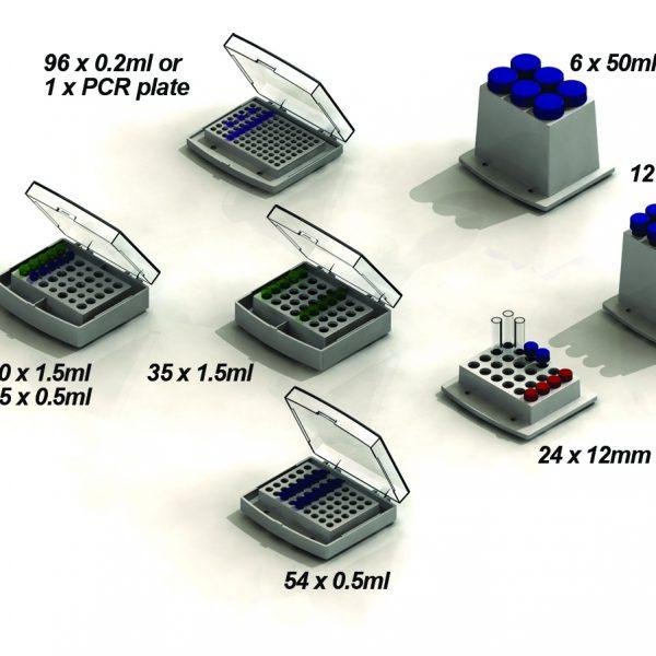 "Block, multipurpose for liquids, beads, etc. Chamber dimensions: 4 x 2.6 x 1""-0"