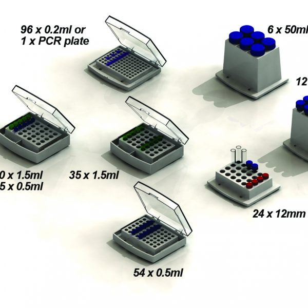 Block , 24 x 2ml HPLC/ Autosampler Vials (12 x 32mm)-0