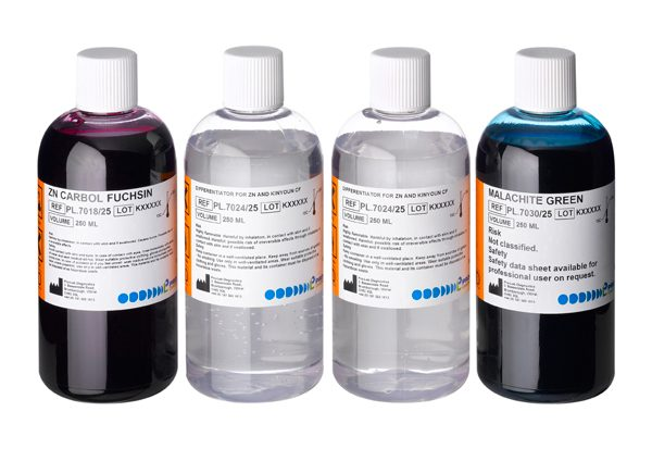 Acid Fast Staining Kit for Mycobacterium (ZN / Malachite Green) (4 x 250.0ml)-0