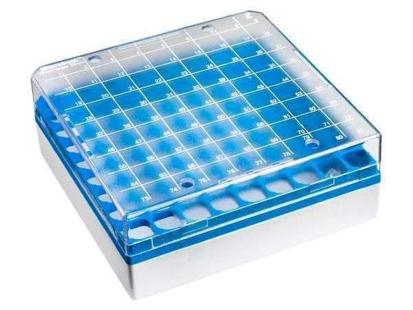 Microbank™ Freezer Storage Box - Blue (4 pack)-0