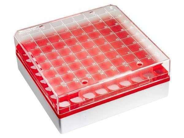 Microbank™ Freezer Storage Box - Red-0