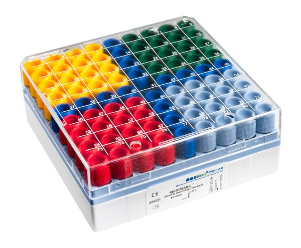 Microbank™ - Mixed (80 vials) (16 vials each colour)-0