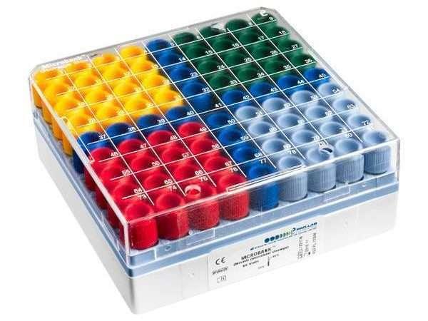 Microbank™ 2D- Mixed (80 vials) (16 vials each colour)-0