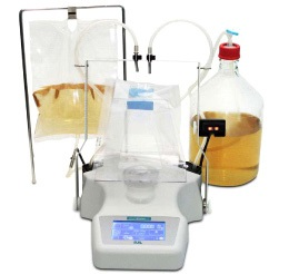 common lab equipment includes dilutors like the one shown