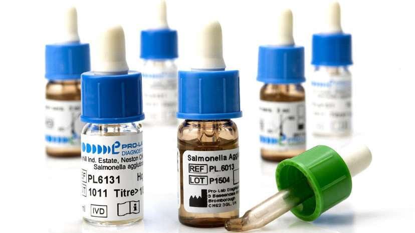 Polyvalent Rapid Salmonella Antisera Diagnostics Sera (RSD)